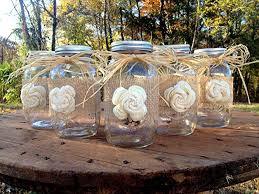 Ball Jar Decorations Amazon Rustic Mason Jars with Sola Flower Rustic Wedding 56