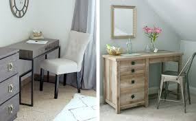 international lux writing desk and cannery bridge work table bedroom vanity