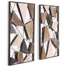 metal and wood wall art canada