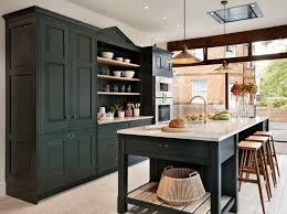 Modern Black Kitchen Cabinets Kitchen Simple Modern Dark Kitchen Cabinets Ideas Image 04 Black