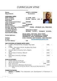 Dr Adofu Ilemonas Curriculum Vitae Raadaa