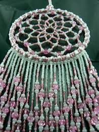 Beaded Dream Catchers Patterns 100 Tier Pink White Crochet Dream Catcher Pink Catcher and Crochet 77