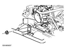 2002 chevy venture thermostat engine cooling problem 2002 chevy thermostat replacement removal procedure 1 remove the air cleaner and duct assembly 2 drain the coolant until the coolant level is below the thermostat