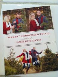 Christmas Wedding Save The Date Cards Christmas Cards Wedded Thank Yous And Save The Dates Visuelle