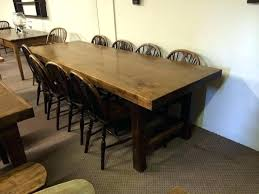 12 foot dining table javi333 com with 8 ft remodel 15