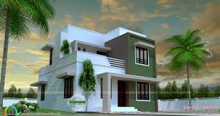Simple Square House Design 1150 Sq Ft Simple Beautiful Flat Roof House Kerala Home