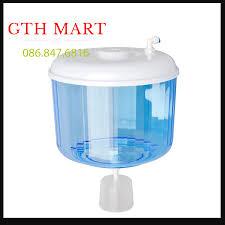 Bình Úp Cây Nước Nóng Lạnh - Phao Chống Tràn, Có đầu lấy nước trực tiếp từ  máy lọc nước Thế hệ mới GTH SHOPSHOP A1