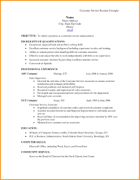 Awesome Pictures Of Example Of Customer Service Resume Business