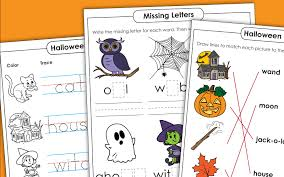 My daughters enjoy activities like the. Halloween Early Literacy Phonics Worksheets