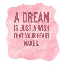 Dream Love Quotes Best Of A Dream Is Just A Wish