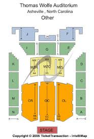 Us Cellular Seating Chart Asheville Thomas Wolfe Auditorium Seating Chart