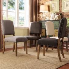 tribecca home furniture. TRIBECCA HOME Benchwright Nailhead Upholstered Dining Side Chairs Set Of And Tribecca Home Furniture