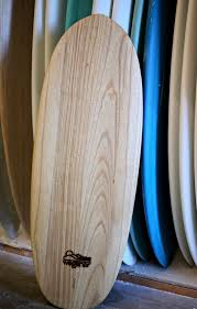 surfboard design catching a wave from