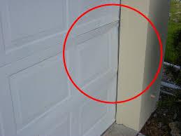 garage door jamb trim choice image door design for home