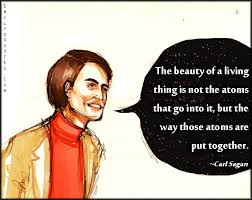 Beauty Of Science Quotes Best of The Beauty Of A Living Thing Is Not The Atoms That Go Into It But