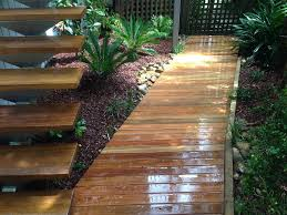 Small Picture Tropical Courtyard Garden Design Northern Beaches Sydney