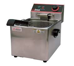 home countertop countertop fryers accessories fryer counter unit electric full pot efs 16 winco deep fryer