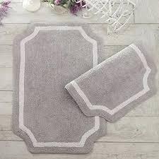 farmhouse bathroom rugs shaped bath rug bath mat vintage shabby chic farmhouse shaped grey cotton farmhouse