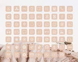 iOS14 Icons iPhone App Neutral Pastel ...