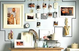 mixed medium photo wall