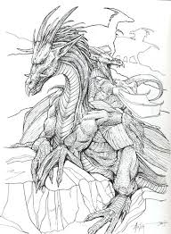 Scary Dragon Coloring Pages Adult Coloring Scary Dragon Coloring