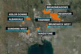 The hot spots map shows the share of population with a new reported case over the last week. Some In Melbourne S Covid 19 Hotspots Dismiss The Health Risks As Testing Blitz Gets Underway Abc News
