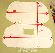 make your own waterproof car seat canopy approximate measurements