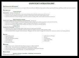 Resume Content Example How To Write A Marketing Resume That Will Help Land Your Dream Job