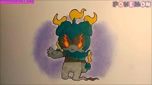 cách vẽ và tô màu Marshadow pokemon hệ bóng đêm-giác đấu
