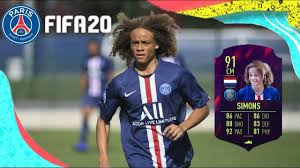 XAVI SIMONS FIFA 20 - FACE TUTORIAL (PSG) - YouTube