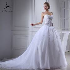 Wedding Court Design Us 220 59 46 Off Eren Jossie Latest Court Train White Organza Dress Bridal Fashion Design Zip Back Off The Shoulder In Wedding Dresses From Weddings