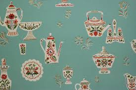 Wallpaper Kitchen Rosies Vintage Wallpaper History Of Kitchen Wallpaper