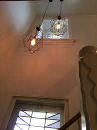 Koperen Lampen In Trapgat Home Made In 2019 Lampen Koperen
