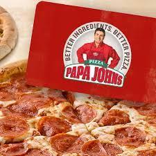 two free pizzas 25 egift card papa