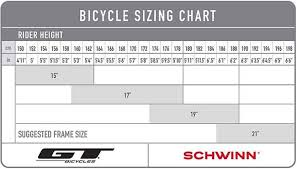 Bicycle Size Chart 35 Abundant Bike Size Chart 700c