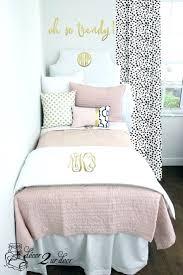cool blush white pop of black dorm teen designer bedding set by amazing duvet covers