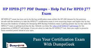 Designing Hpe Backup Solutions Valid Hp Hpe0 J77 Pdf Dumps Your Designing Hpe Backup