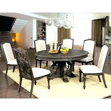 round 60 dining table inch furniture of rustic brown n with leaf seats