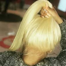 #613 Blonde <b>13*4 Lace Front</b> Wig Pre Plucked with Baby Hair Remy ...