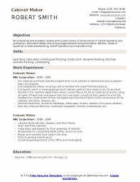 cabinet maker cover letter cabinet maker resume samples qwikresume