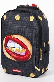 <b>Рюкзак SPRAYGROUND Ski Mask</b> Grillz Backpack (B187-Multicolor ...