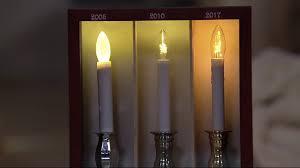Bethlehem Lights Plug In Window Candles Bethlehem Lights Set Of 4 Battery Op Slim Base Window Candles On Qvc