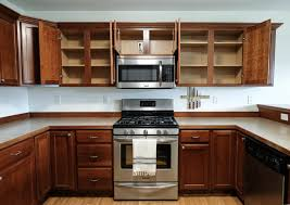 adding cabinet lighting. An Empty Kitchen Getting Ready To Install Cabinet Lighting Adding H