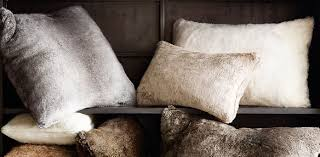 Luxe Faux Fur Pillow Collection