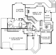 Frank Lloyd Wright-Inspired Home Plan - 85003MS | Architectural ...