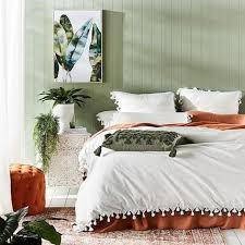 adairs tassel plain pillowcases