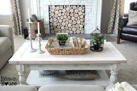 white rustic coffee table off white rustic coffee table photo of off white coffee table living