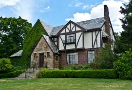 Homes were built to resemble the old English Tudors, but this time the  beams and stucco plaster outsides were more for the look instead of the  actual ...