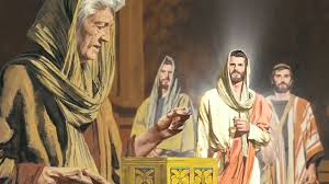 Image result for jesus e as viuvas