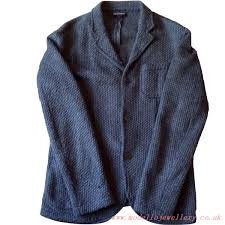 best quality clothing grey for mens coats jackets emporio armani wool blend blazer
